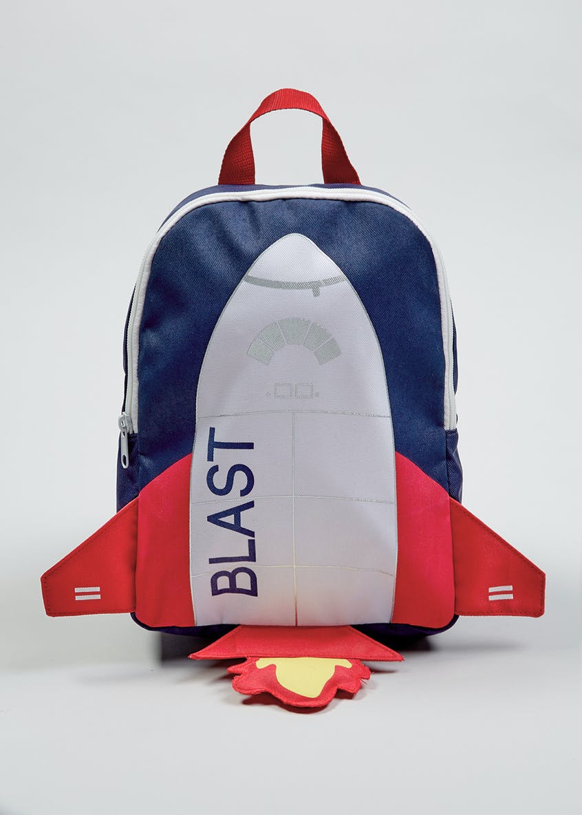 Kids 3D Rocket Backpack