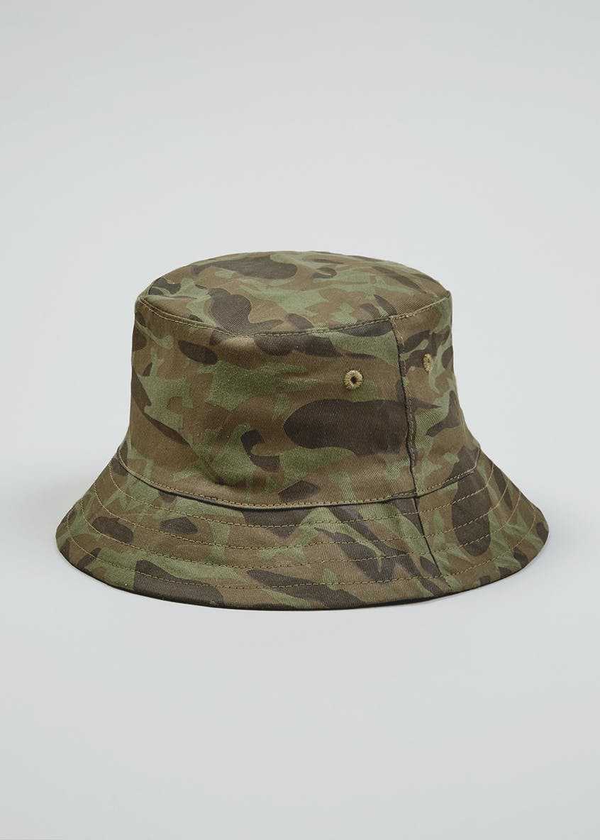 Kids Camo Sun Hat (5-13yrs)