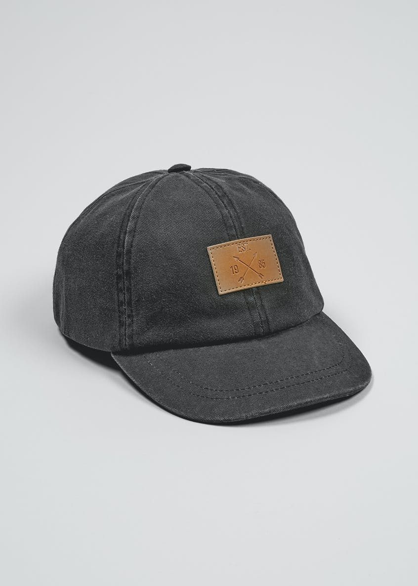 Kids Washed Denim Cap (3-13yrs)