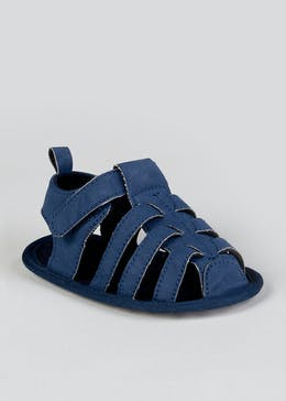 Unisex Soft Sole Caged Sandals (Newborn-18mths)