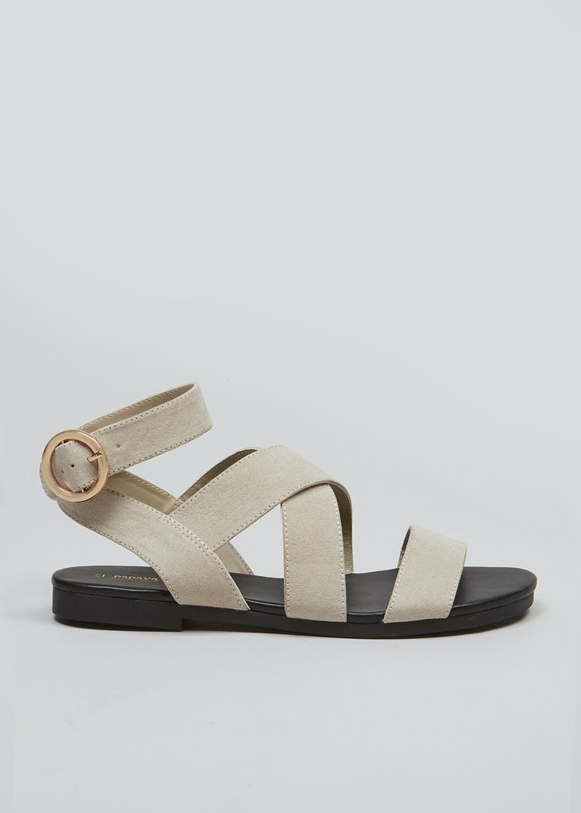 Gladiator Ring Buckle Sandals