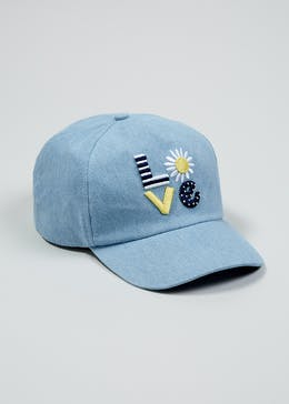 d095a204556 Kids Love Denim Cap (3-13yrs)