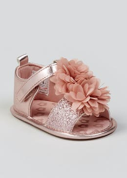 fa4847167 Girls Soft Sole Occasion Baby Sandals (Newborn-18mths)