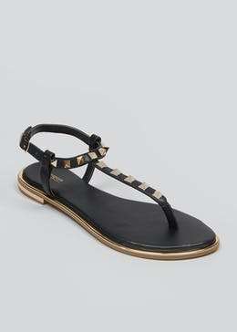 eb7bbed0e Studded Toe Post Sandals