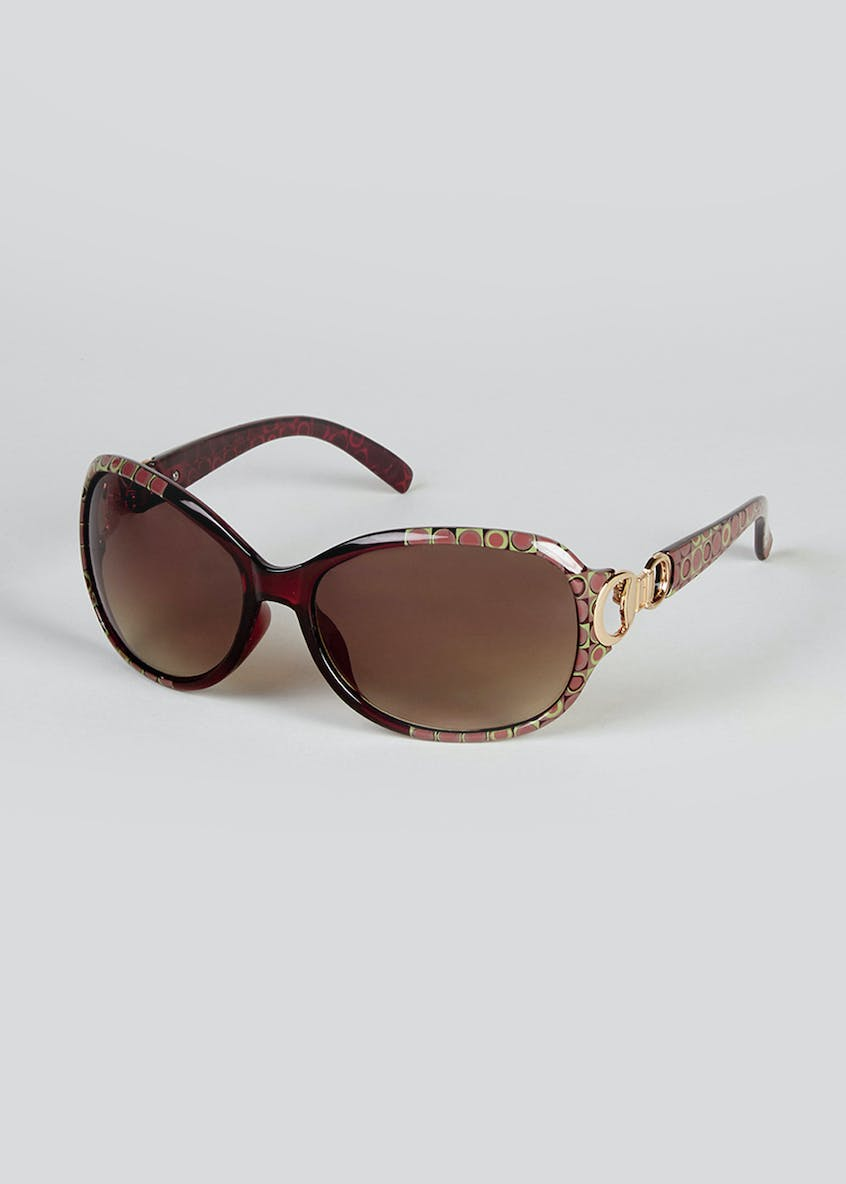 Foster Grant Printed Frame Sunglasses
