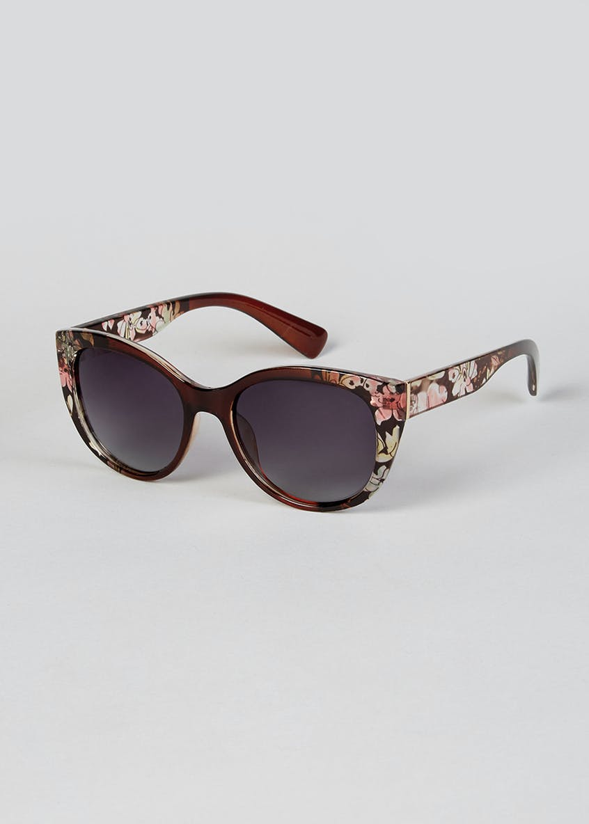 Foster Grant Floral Oversized Sunglasses