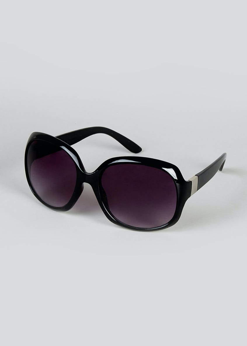 Metal Arm Detail Sunglasses