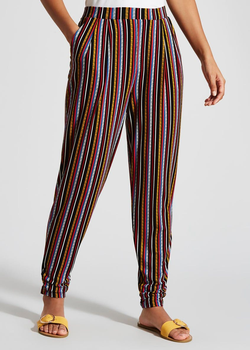 Stripe Harem Trousers