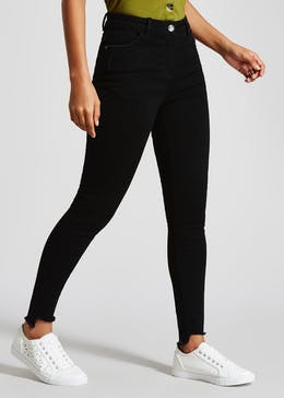 April Step Hem Super Skinny Jeans