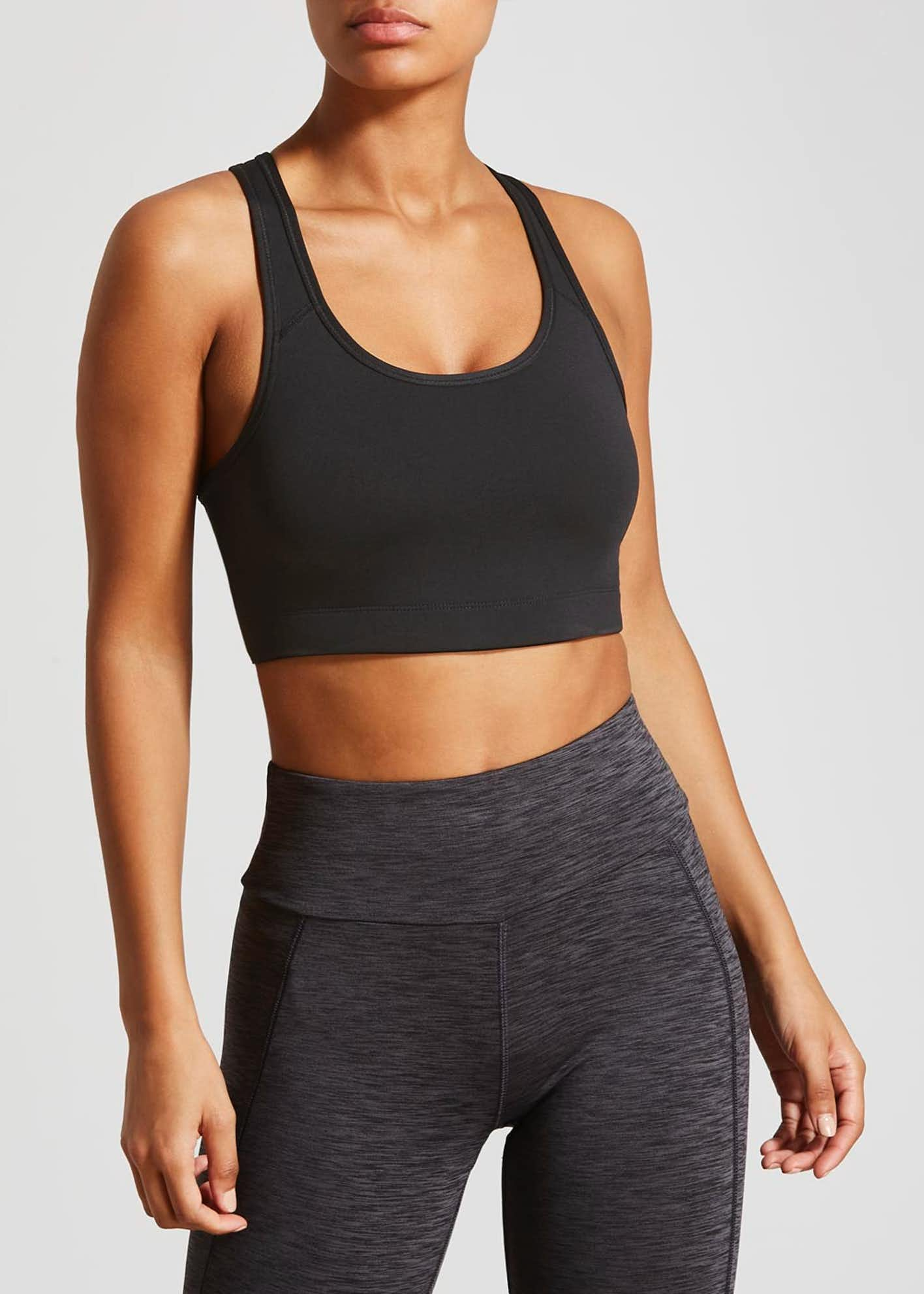 Souluxe Padded Sports Crop Top