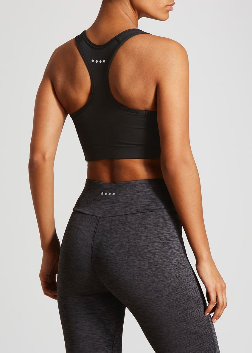 Souluxe Black Padded Sports Bra