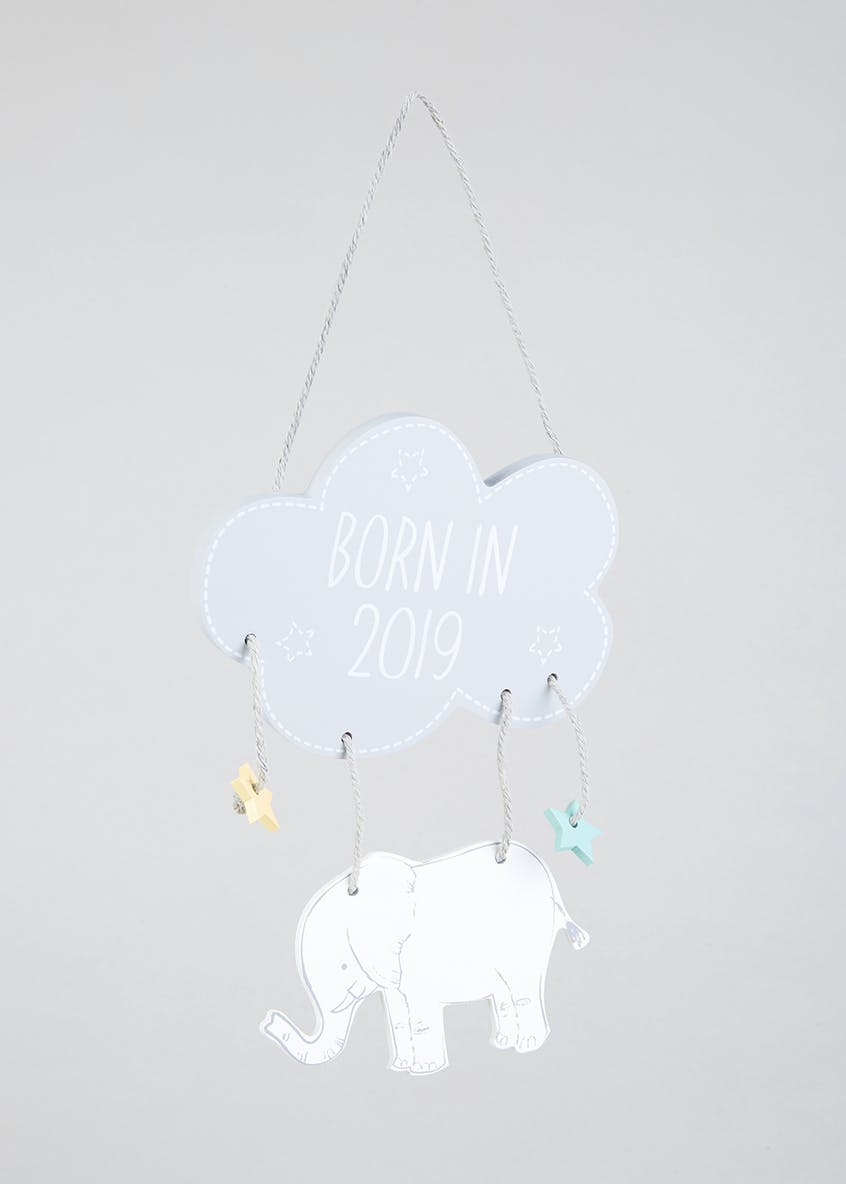 Hanging Baby Plaque