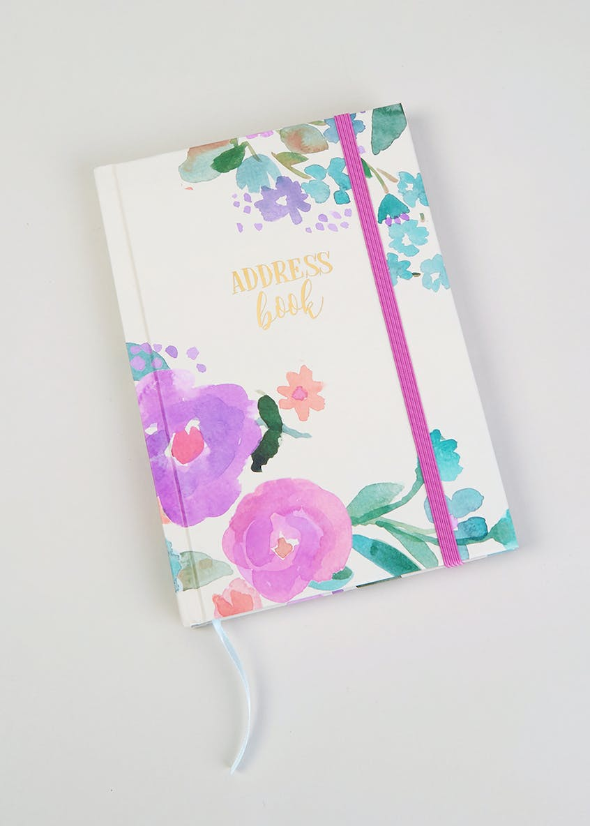 Floral Address Book (A5)