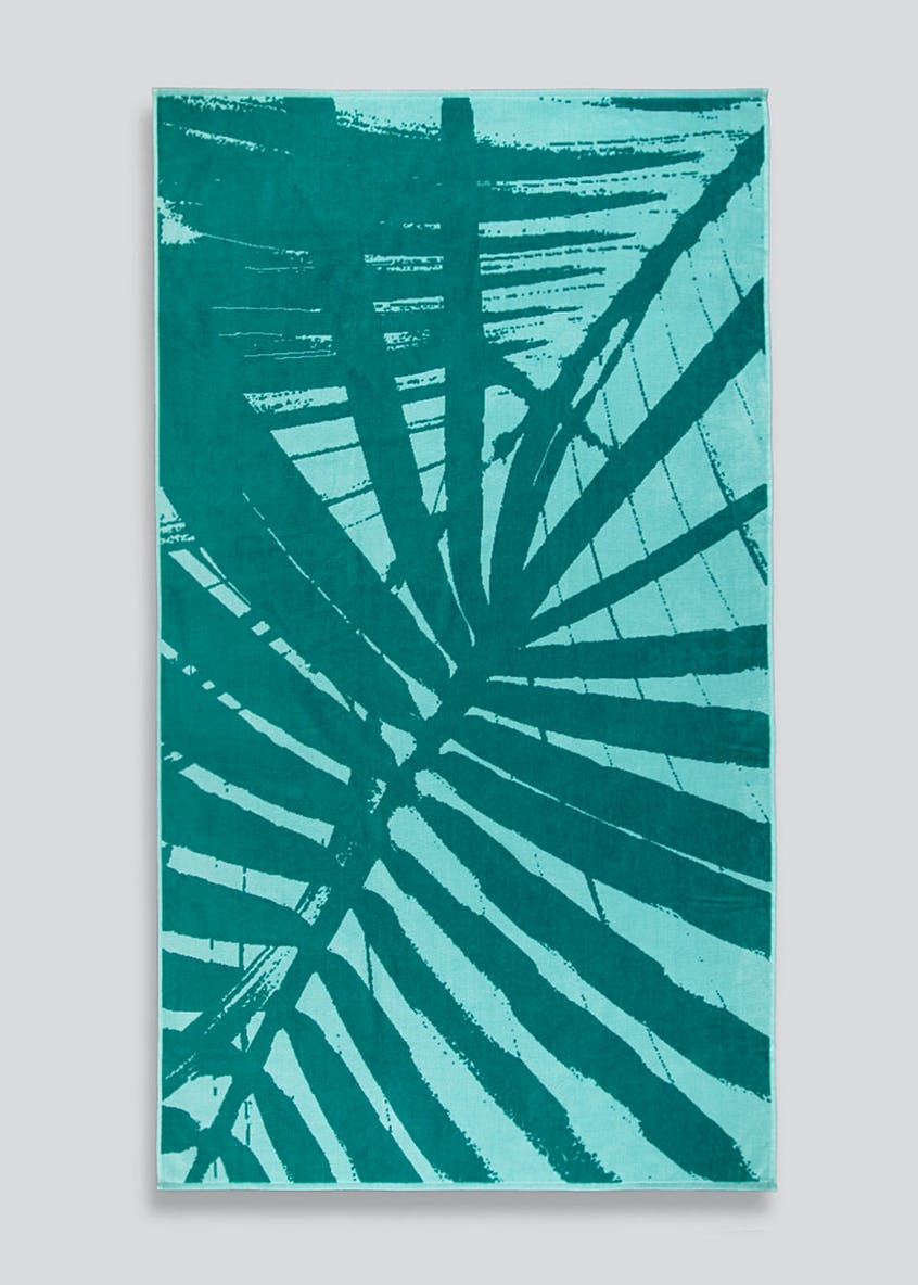 Large Jacquard Beach Towel (180cm x 100cm)