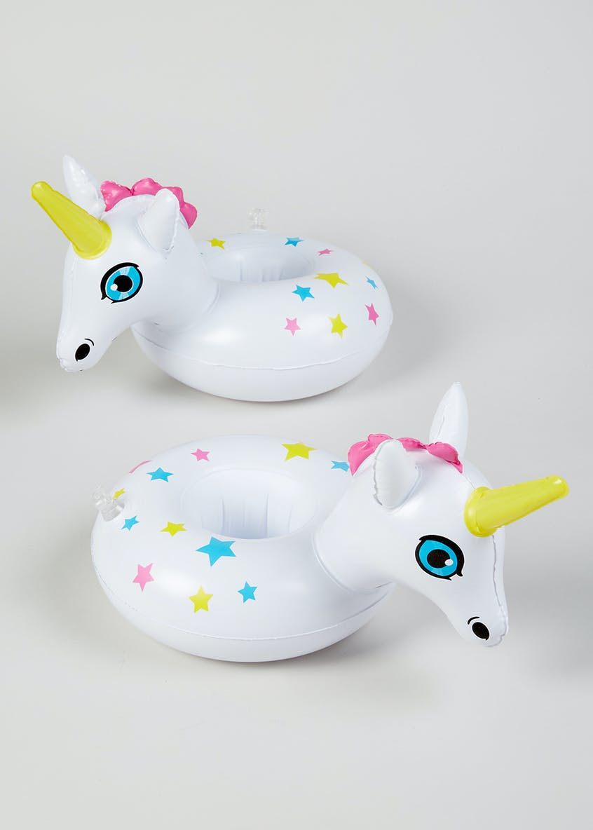 BigMouth 2 Unicorn Inflatable Drinks Holders