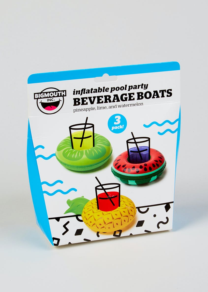 BigMouth 3 Fruit Inflatable Drinks Holders