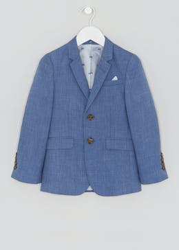 783887207ab4 Boys Chambray Suit Jacket (4-13yrs)