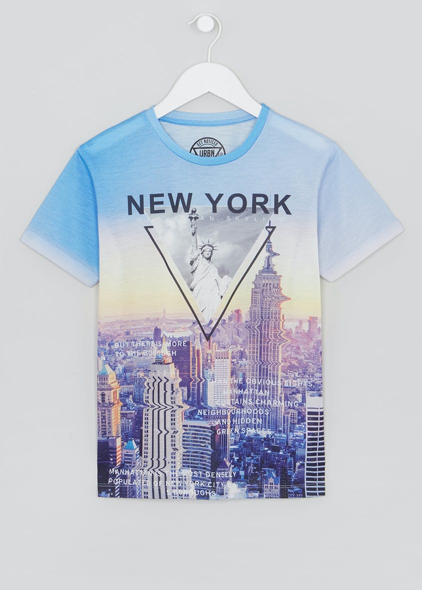 Boys City Scape T-Shirt (9-16yrs)