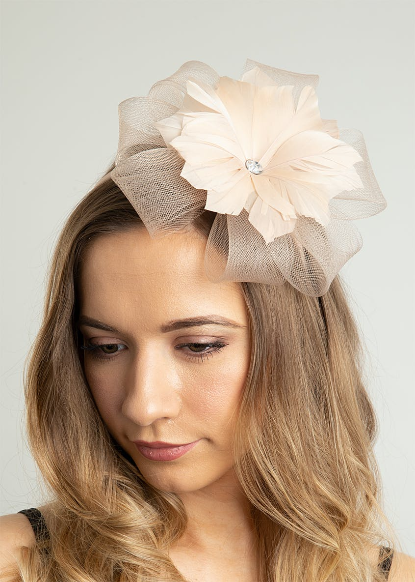 Feather Loop Fascinator