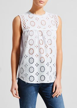 Falmer Schiffley Lace Swing Vest