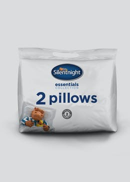 Silentnight Essentials Medium Firm Pillow Pair