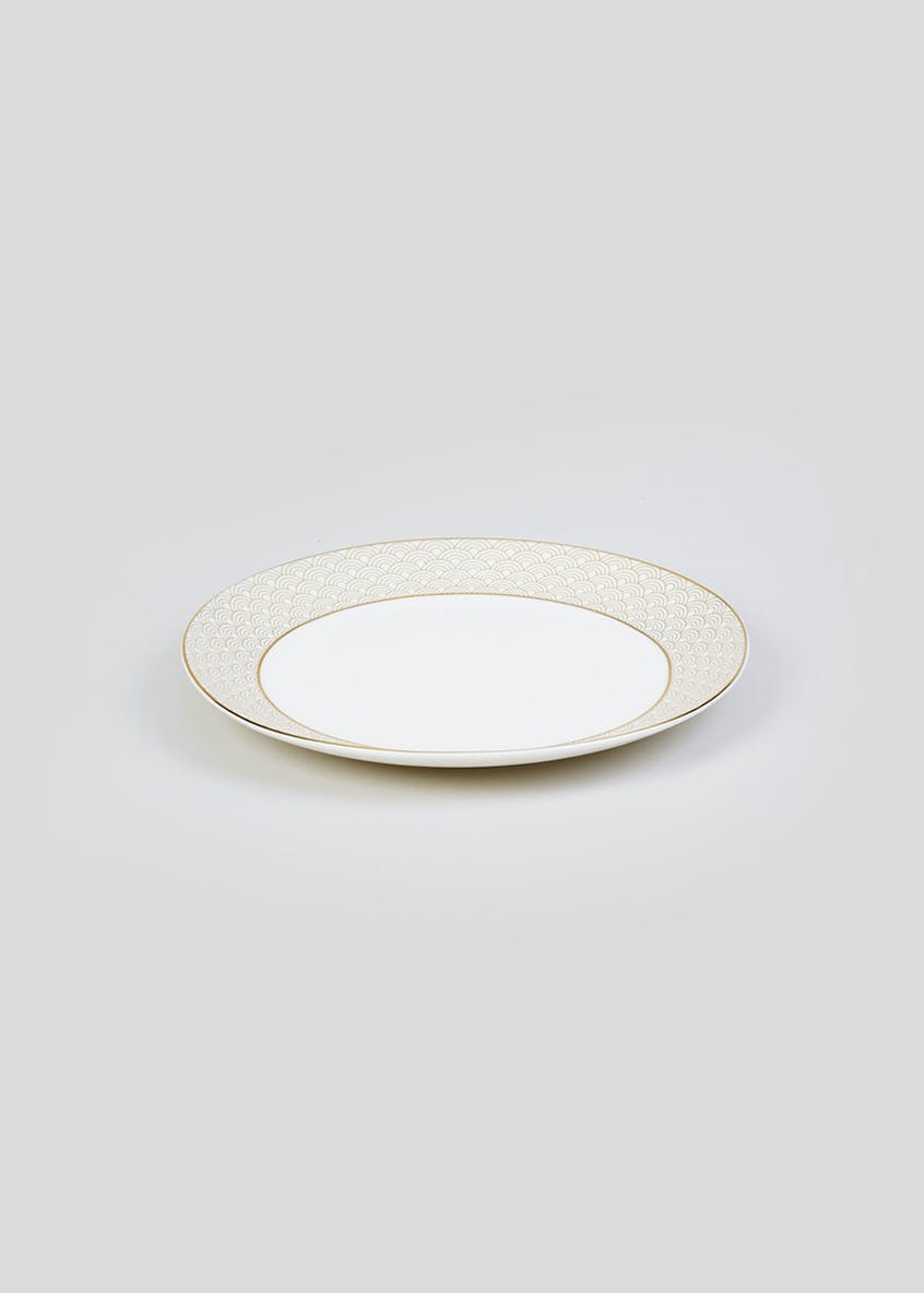 Metallic Geometric Side Plate (19cm)
