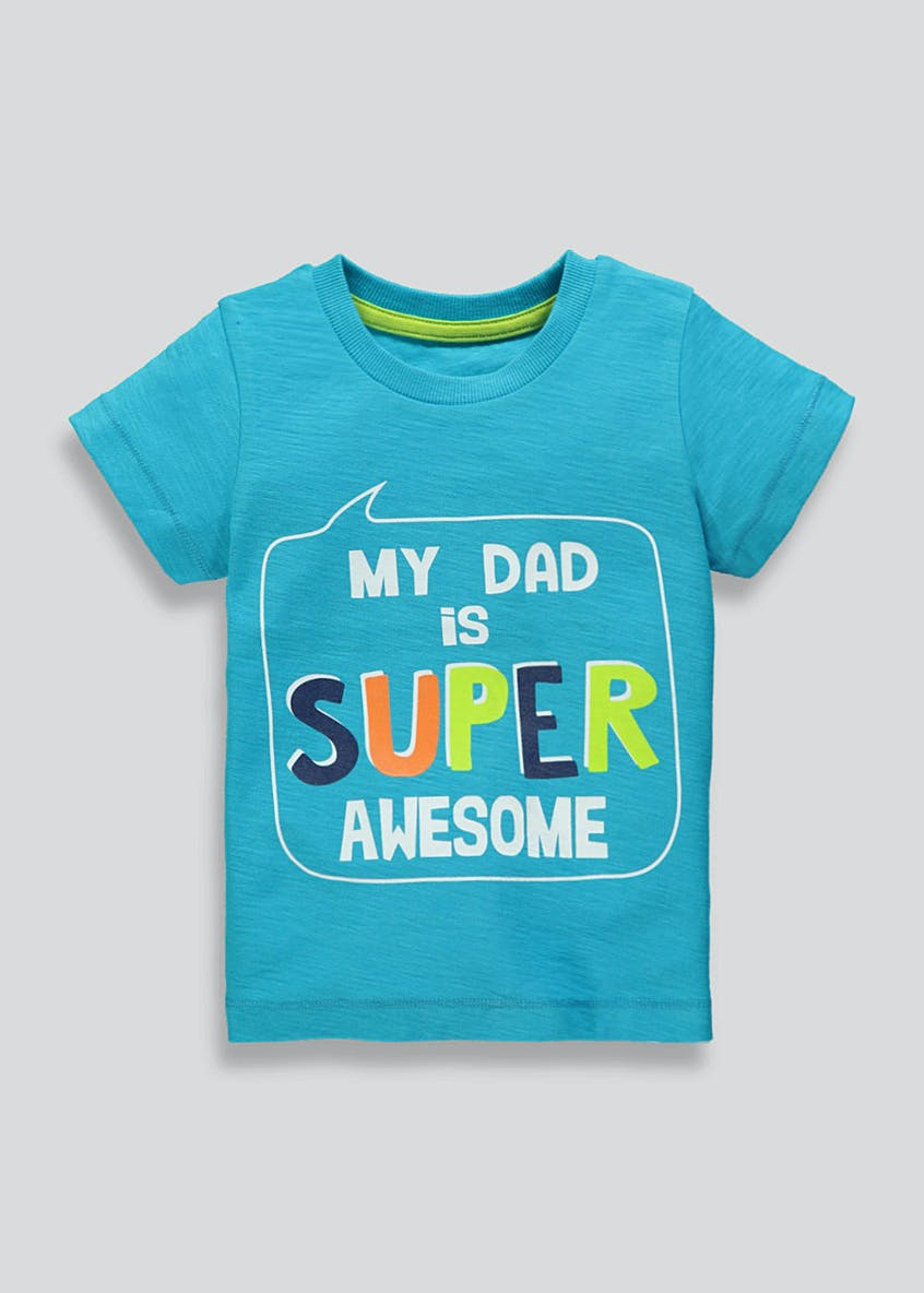 Boys Dad Slogan T-Shirt (9mths-6yrs)