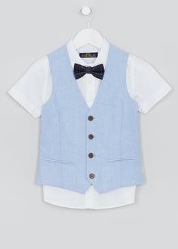 Boys Oxford 3 Piece Set (4-13yrs)