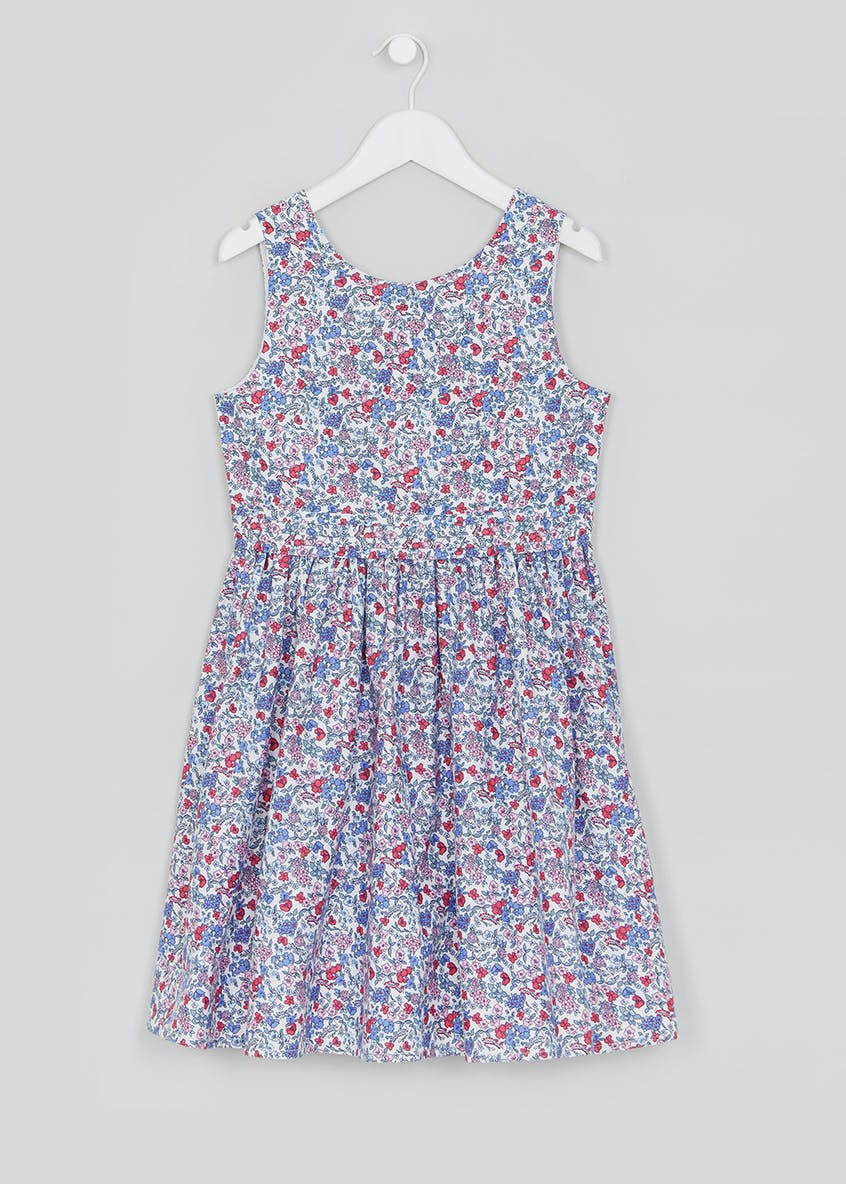 Girls Family Floral Dress (4-13yrs)