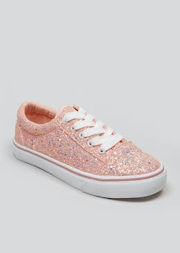 6403c542dfa Girls Glitter Trainers (Younger 10-Older 5)