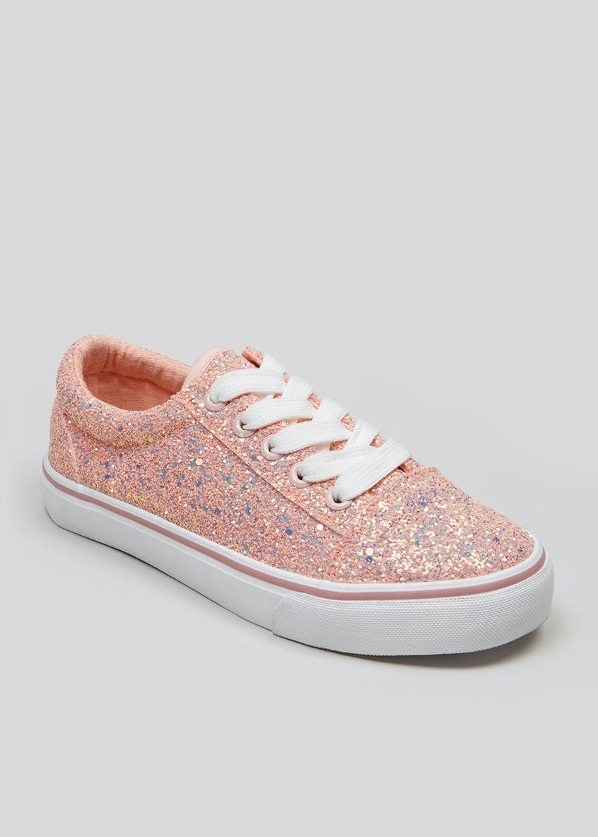 Girls Glitter Trainers (Younger 10-Older 5)