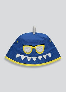 Kids Shark Sunglasses Sun Hat (6mths-4yrs)