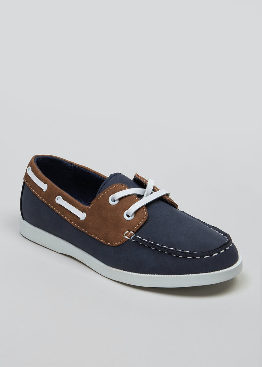 Boys Boat Shoes (Younger 10-Older 6)