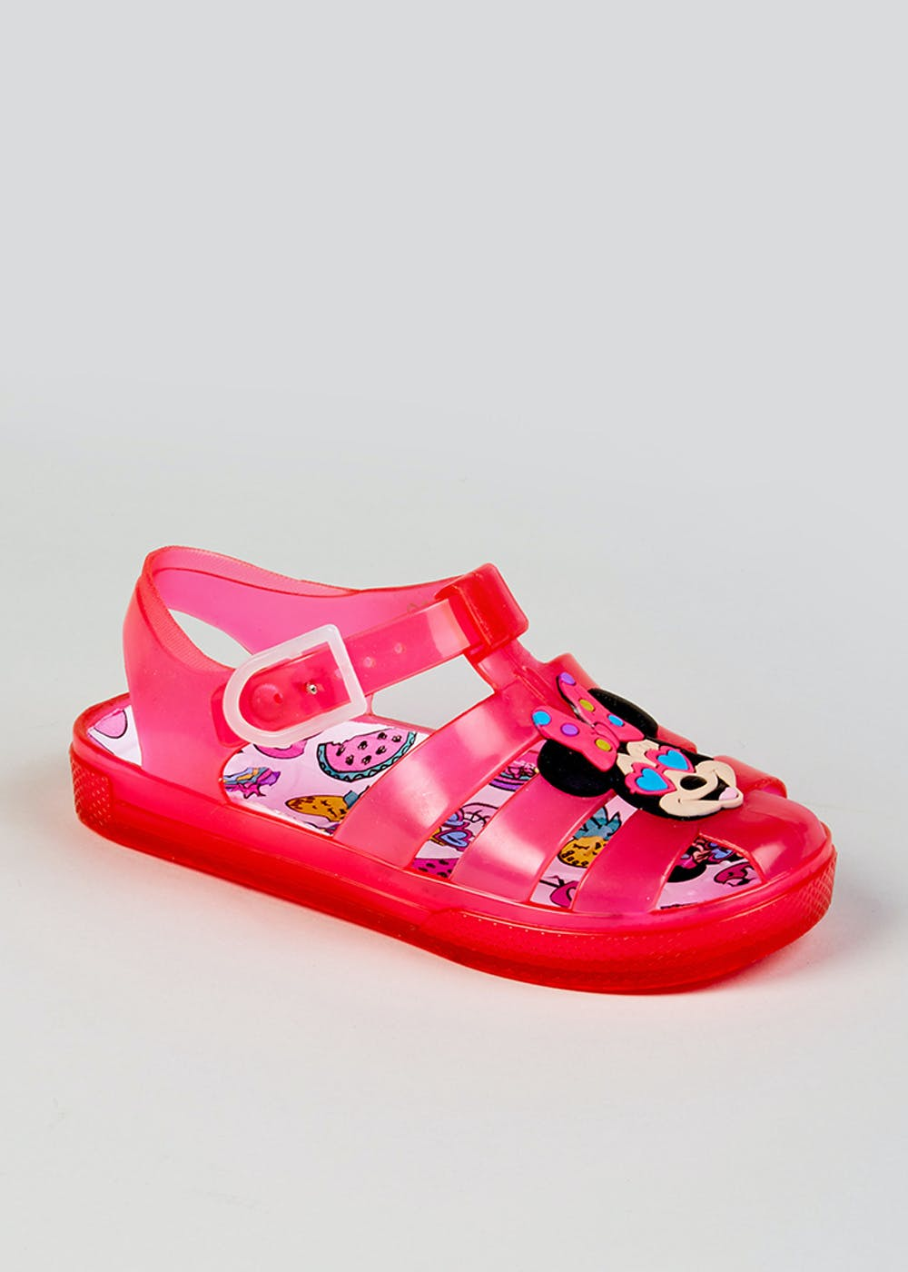dd7389012e2 Kids Disney Minnie Mouse Jelly Shoes (Younger 4-12) – Pink – Matalan