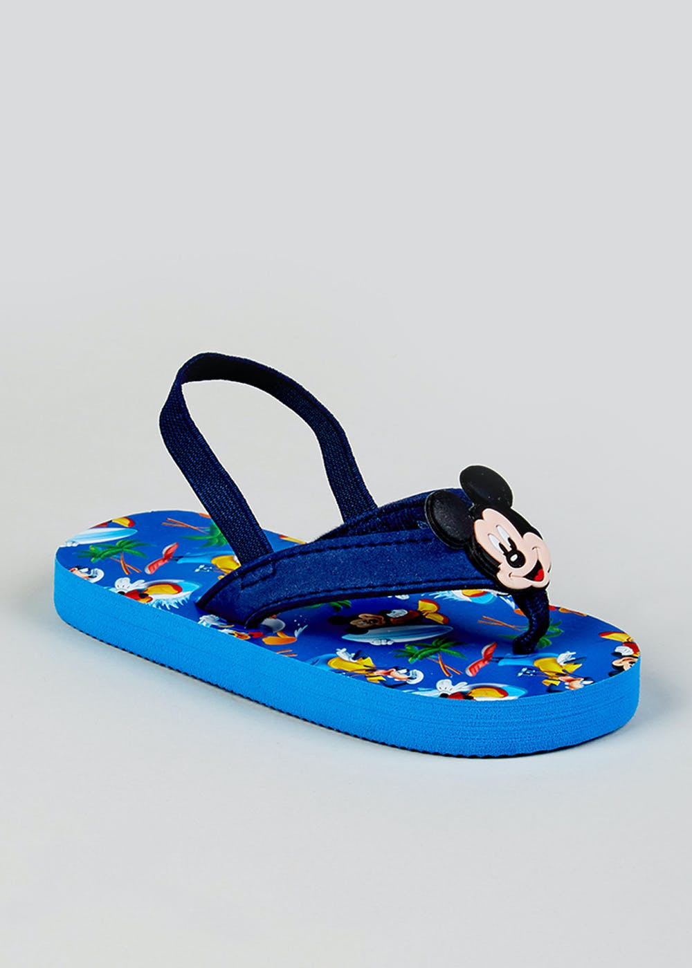 f869de9cc8b2 Kids Disney Mickey Mouse Flip Flops (Younger 4-12) – Blue – Matalan