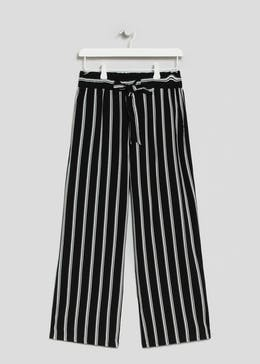 2344a75f8bc Papaya Petite Stripe Wide Leg Trousers