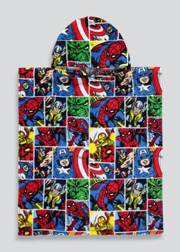 Kids Marvel Poncho (One Size)