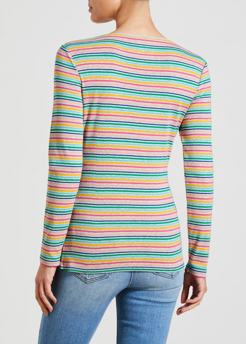 Stripe Long Sleeve T-Shirt