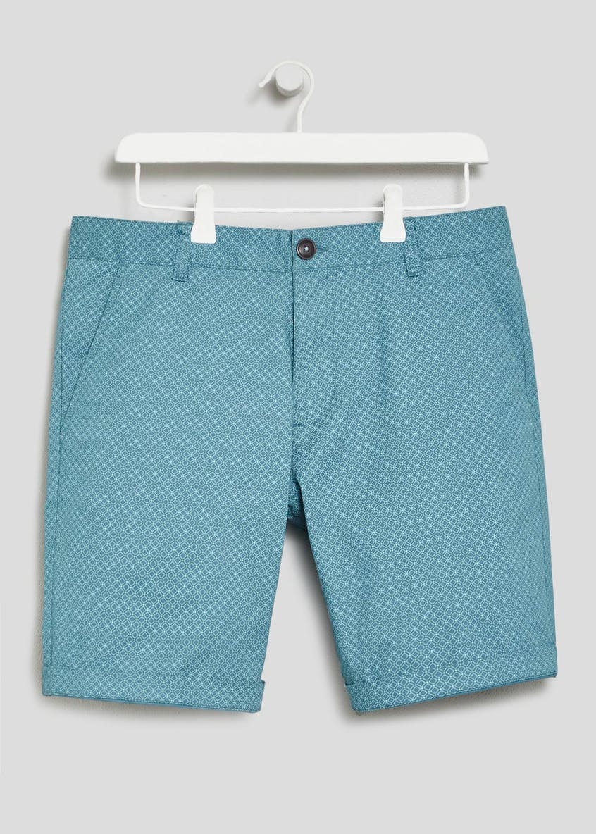 Big & Tall Geometric Chino Shorts