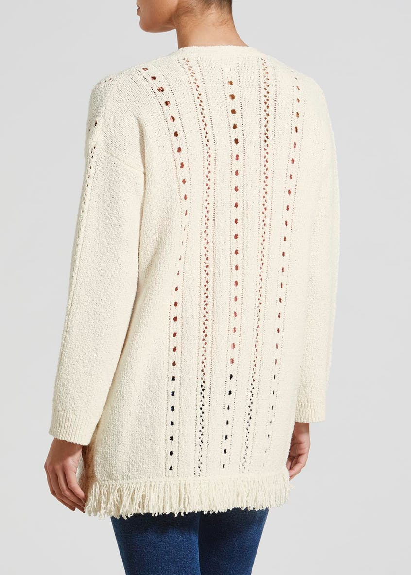 Falmer Edge to Edge Pointelle Cardigan