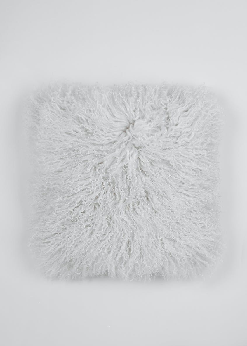 Farhi by Nicole Farhi Mongolian Wool Feather Filled Cushion (40cm x 40cm)