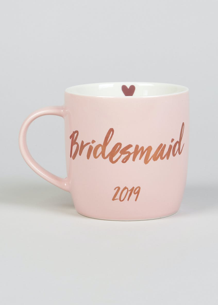 Bridesmaid 2019 Slogan Mug (10cm x 9cm)