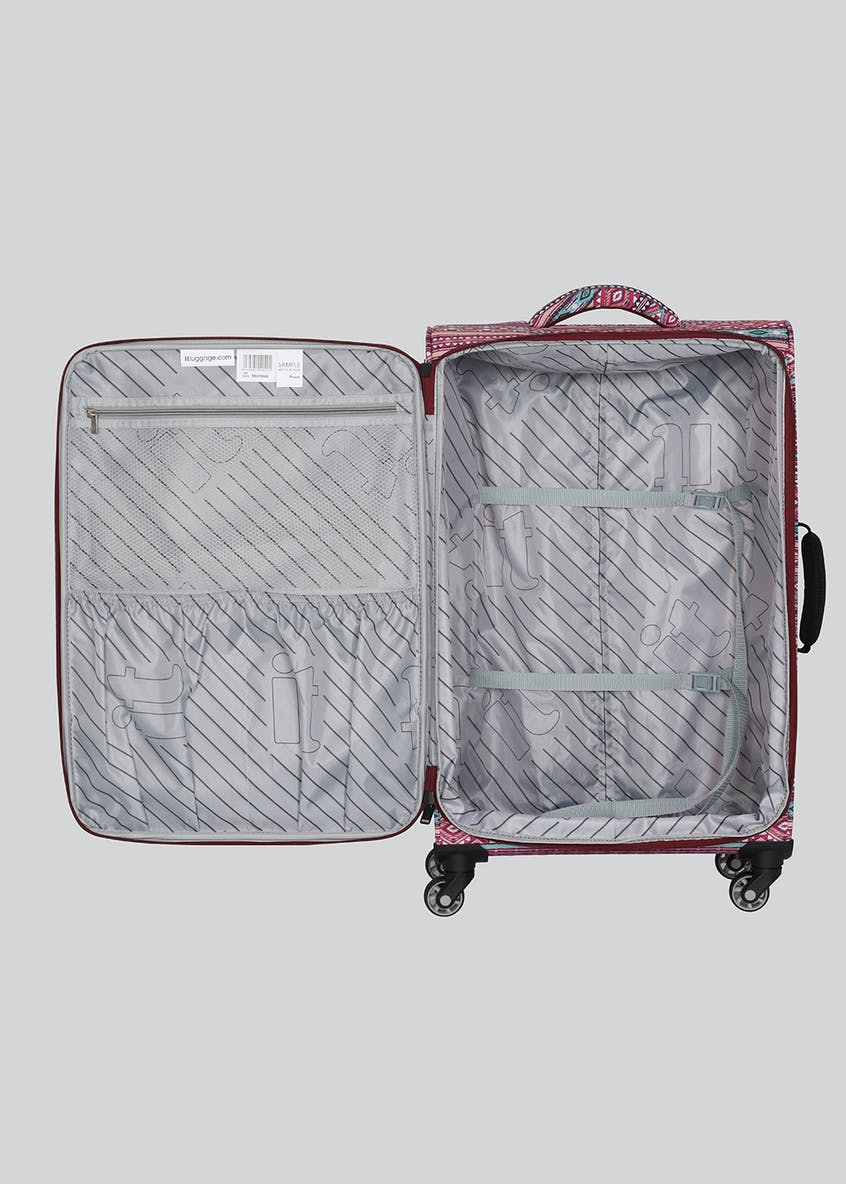 IT Luggage True-Lite Tribal Suitcase