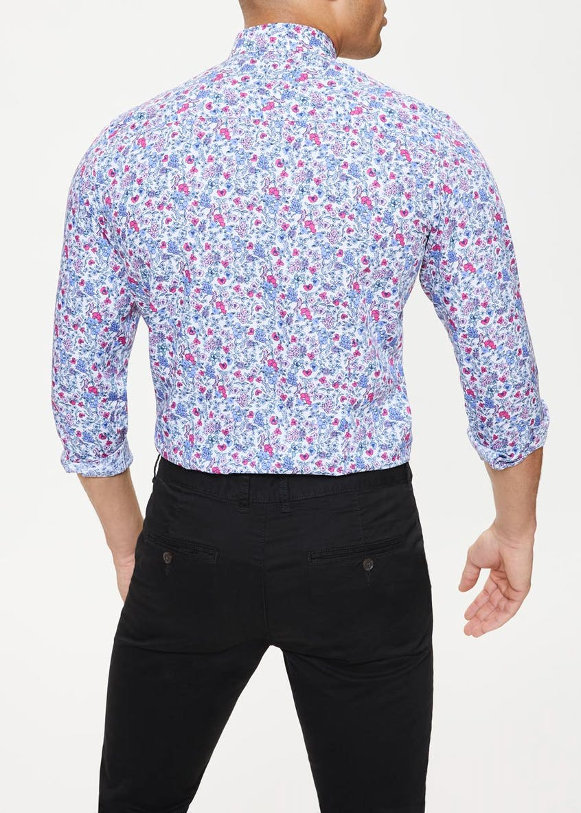 Long Sleeve Family Floral Shirt