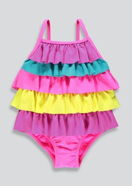 Girls Frill Swimming Costume (6mths-6yrs)