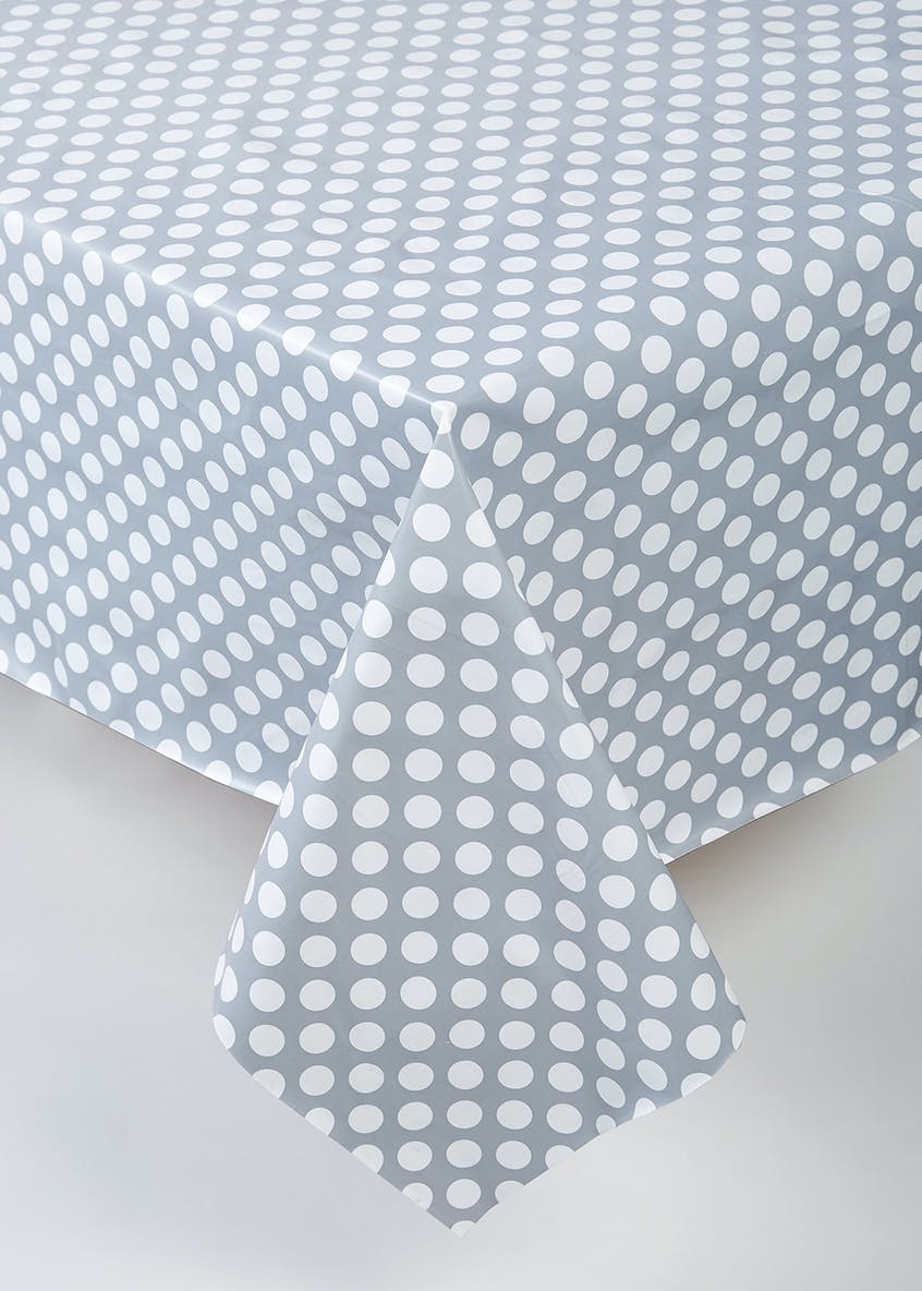 Polka Dot Tablecloth (229cm x 137cm)