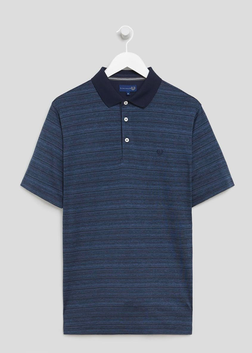 Lincoln Active Stripe Polo Shirt