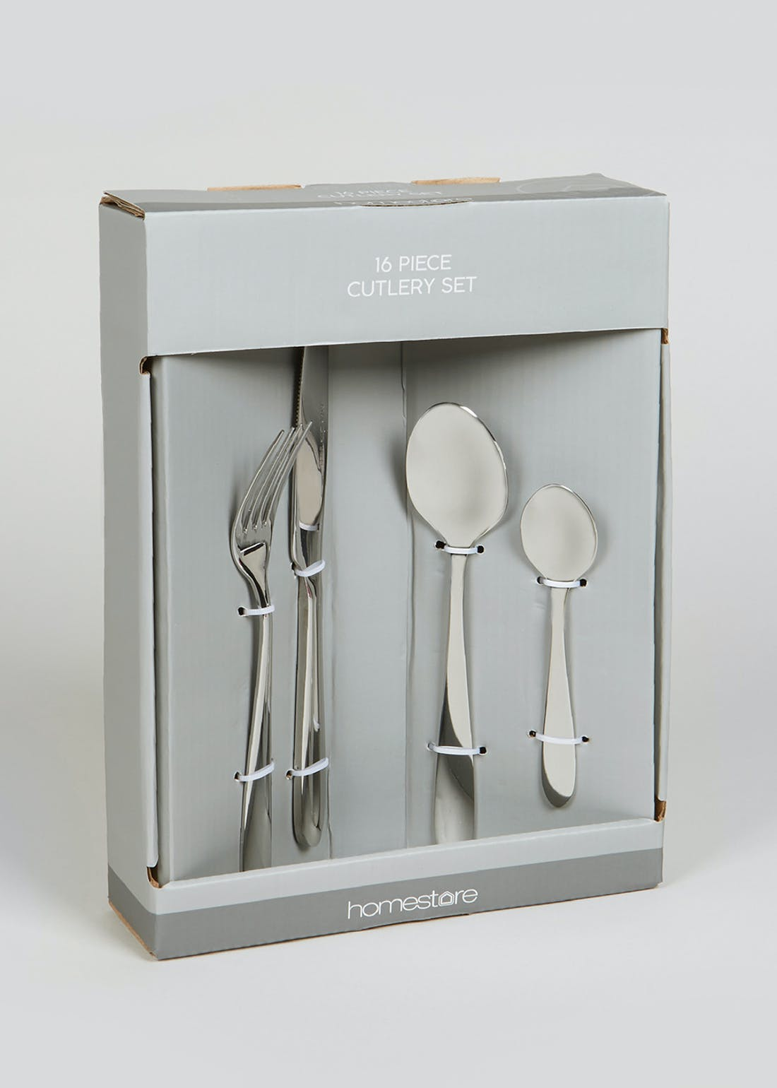 16 Piece Stainless Steel Cutlery Set