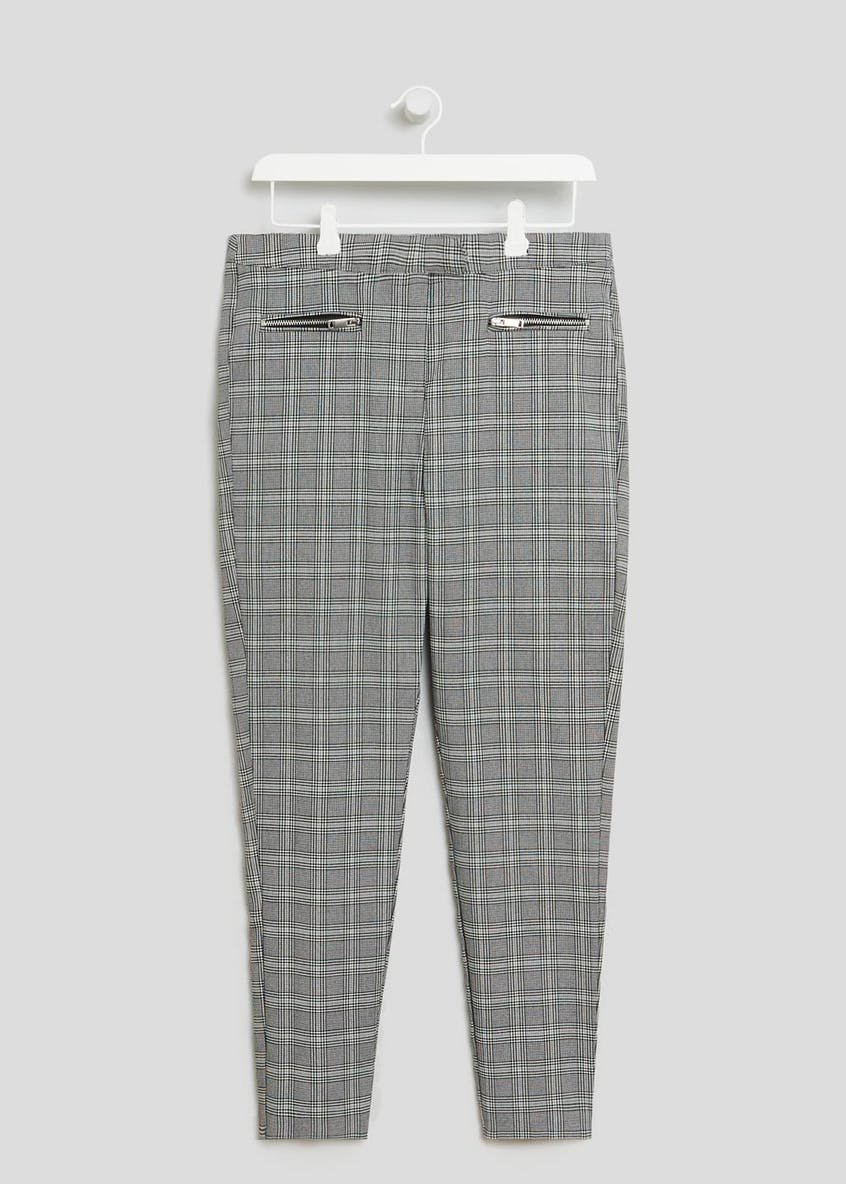 Check Bengaline Slim Fit Trousers