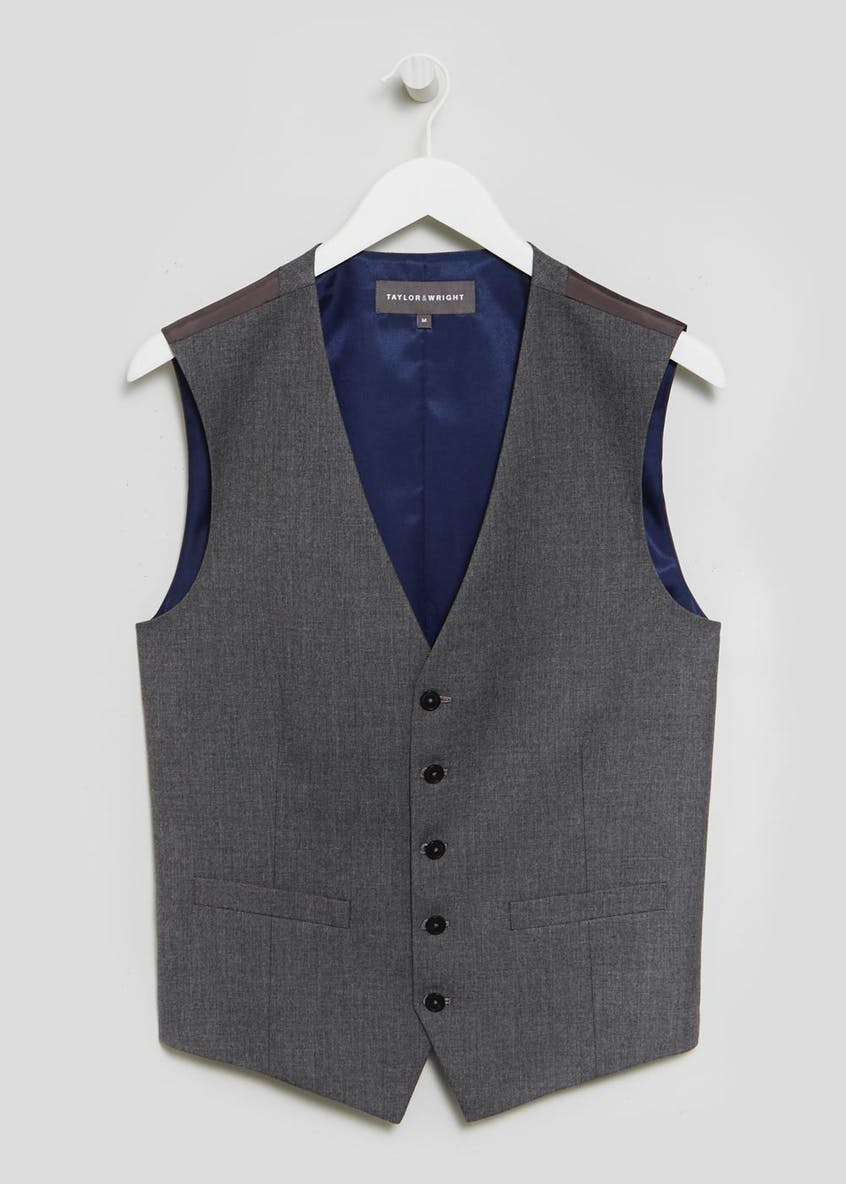 Taylor & Wright Oakwood Tailored Fit Waistcoat